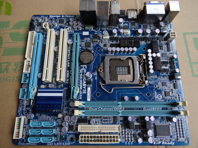 H55 motherboard Used original for Gigabyte GA-H55M-D2H DDR3 H55M-D2H LGA 1156 free shipping