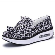 Fashion Women Flat Platform Shoes Round Toe Casual Sweet Leopard Women Winter Shoes Mujer Sapato Feminino Size 35-41