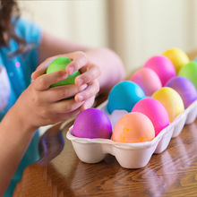 Surprise Easter Eggs Assorted Colour Children Toy Craft Model Fillable Gifts Chocolate  YH-17