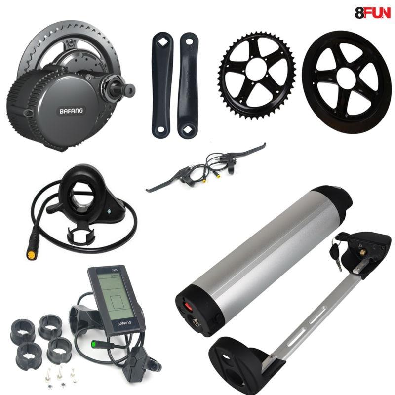 48v 750w 8fun/bafang motor crank kits+48v 13ah water kettle bottle battery C965 LCD BBS-02 New for the controller bafang 750w bafang 8fun motor 750w bafang kit bafang bbs 02b