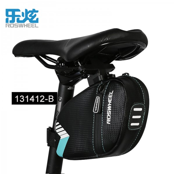 Quick Release Cycling Bike Bicycle Rear Seat Saddle Tail Bag 4 Color to Choose
