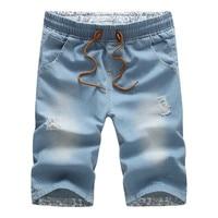 Summer Men Jeans Shorts 2017 New Men Shorts Brand Plus Size Fashion Designers Shorts Cotton Jeans