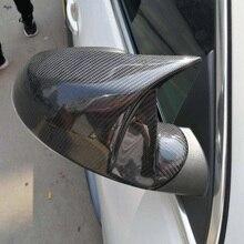 คาร์บอนไฟเบอร์รถประตูด้านข้างกระจกมองข้างทดแทนสำหรับ Buick Regal GS 2009 2016