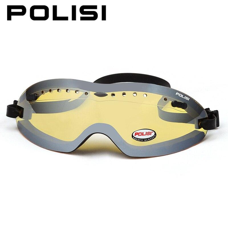 6bfb0c37f4 POLISI Ski patin à neige lunettes enfants enfants sports de plein air Ski  Snowboard lunettes Protection UV Anti buée jaune lentille lunettes dans Ski  ...