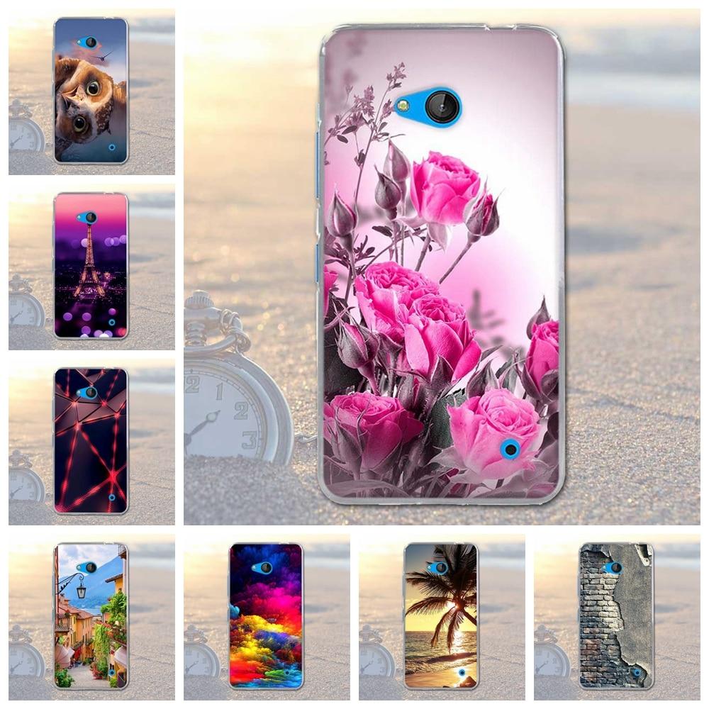 Coque dla nokia 640 case pokrywa dla nokia microsoft lumia 640 silikonowe cell phone case miękka tpu shell dla nokia 640 lumia 640 torba 4
