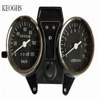 Rpm tachimetro 100CC 125CC 150CC 250CC 300CC uniwersalny prędkościomierz obrotomierz motorcycle starożytni motogodzin obrotomierz tach