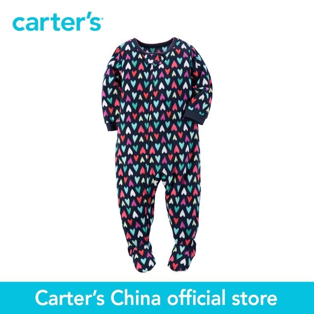 Картера 1 шт. детские малыши детей Микрофлис PJs 357G140, продавец картера Китай официальный магазин