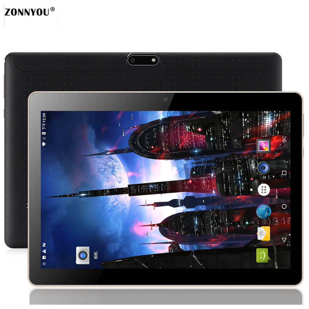 10.1 inch Tablet PC Android 7.0 OCTA -Core RAM 4GB ROM 32 Dual SIM Bluetooth WiFi GPS IPS Smart Tablets PC10 10.1 цены