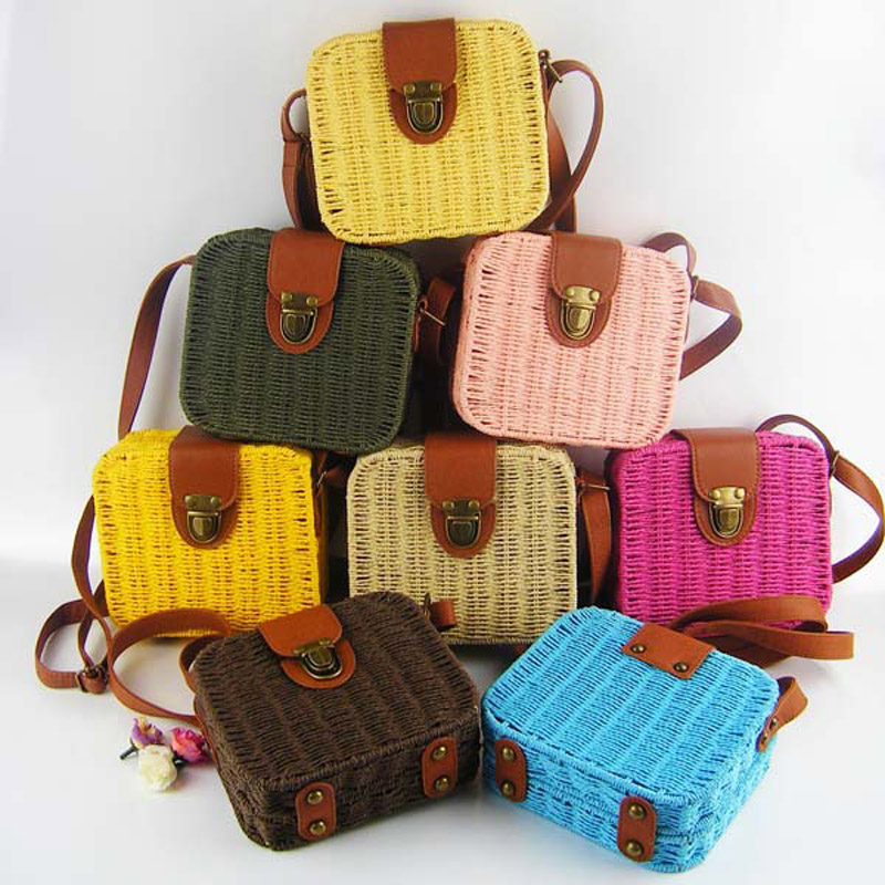 Popular Knitted Beach Bag-Buy Cheap Knitted Beach Bag lots from ...