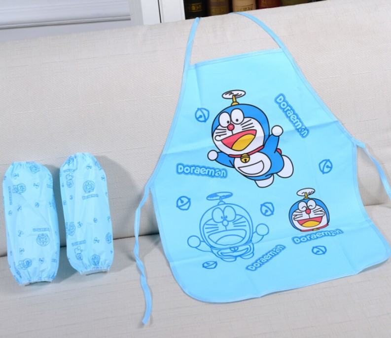 17769f7d05 10sets lot Cute Cartoon Children Apron sleevelet HELLO KITTY kindergarten  Kids waterproof PE Aprons Home Supplies Children Gifts-in Party Favors from  Home ...