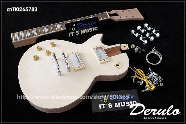 guitare gaucher en kit