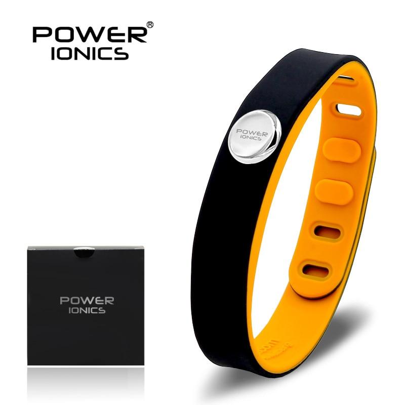 Image 4 - Power Ionics 3000ions Sports Waterproof Titanium Bracelet Wristband Improve Balance Sleeping Slimming-in Hologram Bracelets from Jewelry & Accessories