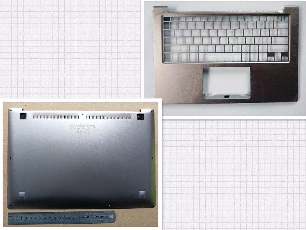 New laptop bottom case base cover+Upper case palmrest for Asus UX303 UX303LN U303L U303LN UX305L new for asus ux303 ux303ln u303l u303ln lcd back cover top cover palmrest upper case am16u000r0s am16u00160s am16u00110s