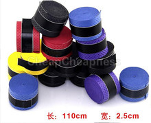 Tennis Badminton Squash Racquet Fishing Rod Sweatband Convenient Anti-Skip Stretchy Overgrips Grip Tape(China)