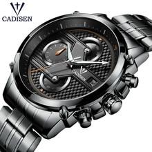 2018 CADISEN Famous Brand Men's Watches Casual Business Watch Hodinky Clock Man Wristwatch Relogio Masculino Zegared Meski Gift