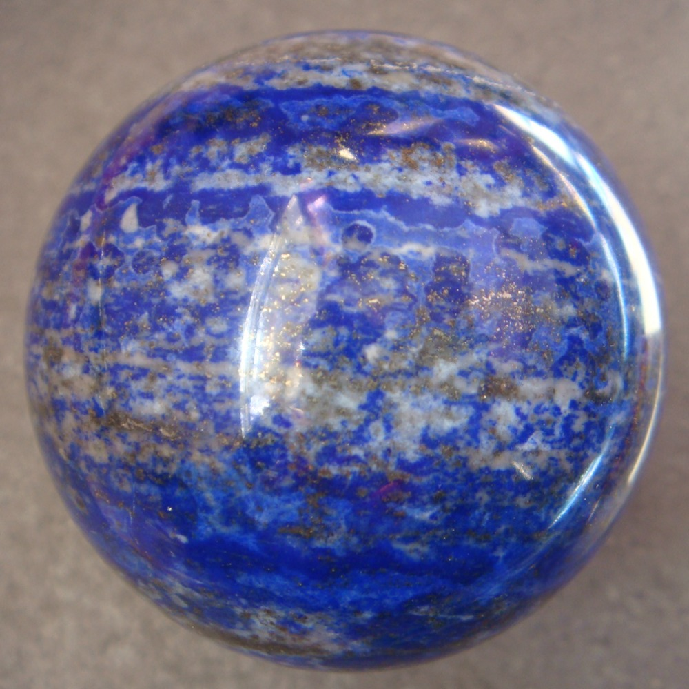 2018 48mm Natural Craft Lapis Lazuli Sphere Ball Healing Specimen Exquisite Gift Home Decoration gift n home