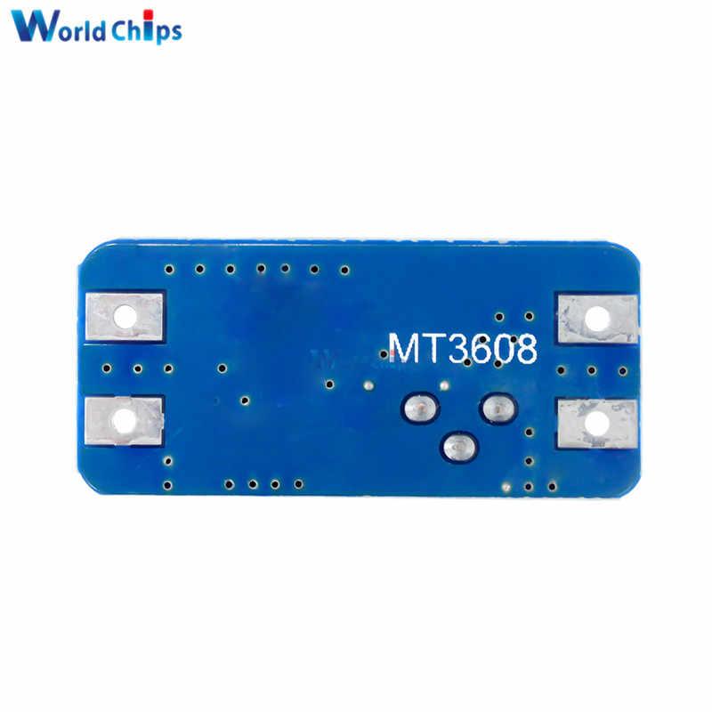 5 pièces MT3608 2A Max DC-DC convertisseur intensificateur Booster Module d'alimentation Boost 2 V-24 V à 5V 9V 12V 28V pour Arduino LM2577