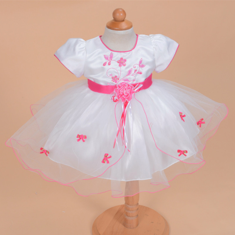 2017 Formal Elegant Baby Dress For 1 Year Old Birthday