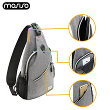 MOSISO 2019 Newest Women Shoulder Bags Waist Bag Casual Messenger Chest Packs Waterproof Gym Outdoor Travel Daypack