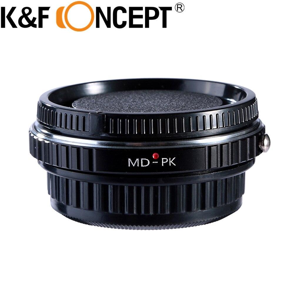 K F Concept Pro Lens Mount Adapter Manual Focus for Minolta MD MC Lens to Pentax