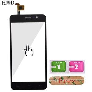 Image 4 - Mobile Touch Screen Digitizer Panel Front Glas Für Homtom S12 Touchscreen Touchscreen Sensor Werkzeuge + Kostenloser Klebstoff