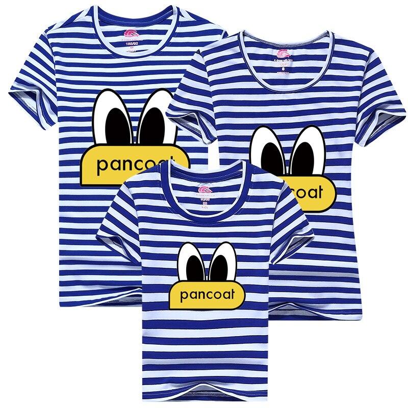 2017 family clothes pancoat Cartoon T shirt casual