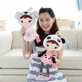 """1pcs 17.8"""" 45cm Metoo Doll Keppel baby girl Angela plush toy doll for Christmas gifts for children free shipping"""