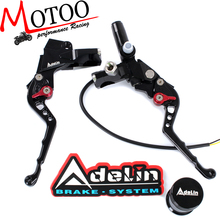 Motoo – 7/8″ Adelin Front Brake  Hydraulic Master Cylinder Lever with Clamp Clutch Master Cylinder Lever