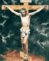 Framless Arrival Unique Gift Digital Oil Painting On Canvas Painting By Numbers Decorative Picture Jesus On