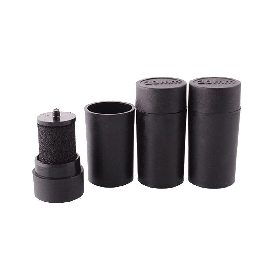 New 5 Pcs Universal Single Row Price Label Tag Gun Maker Labeller Coding Machine Ink Wheel Black