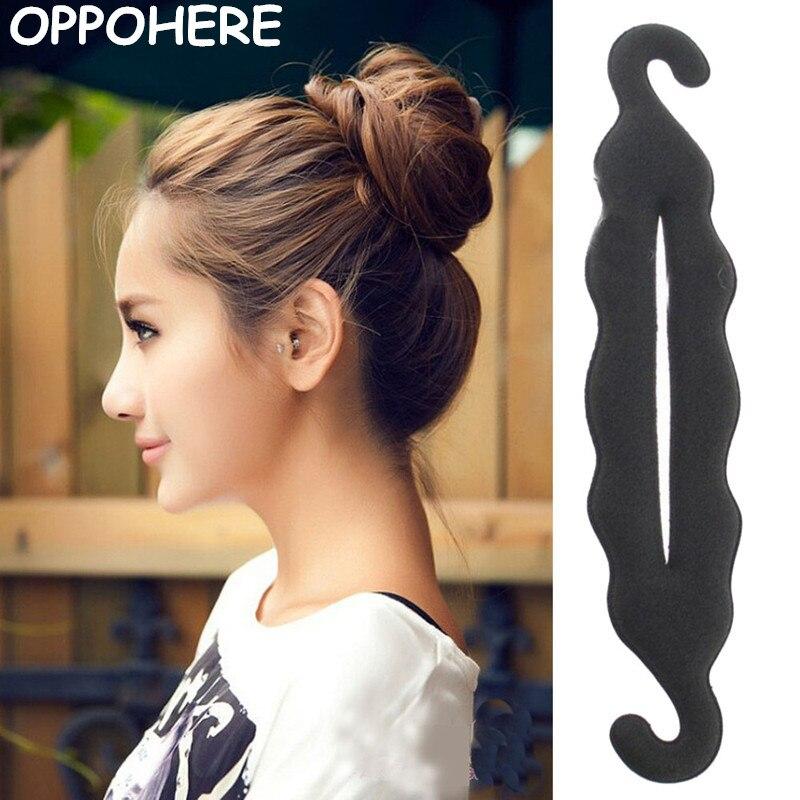 Twist Styling Magic Hair Styling  Bun Hairpins Hairdisk Meatball Head Rubber Clip Hair Accessories For Women Hair Braiding Tool