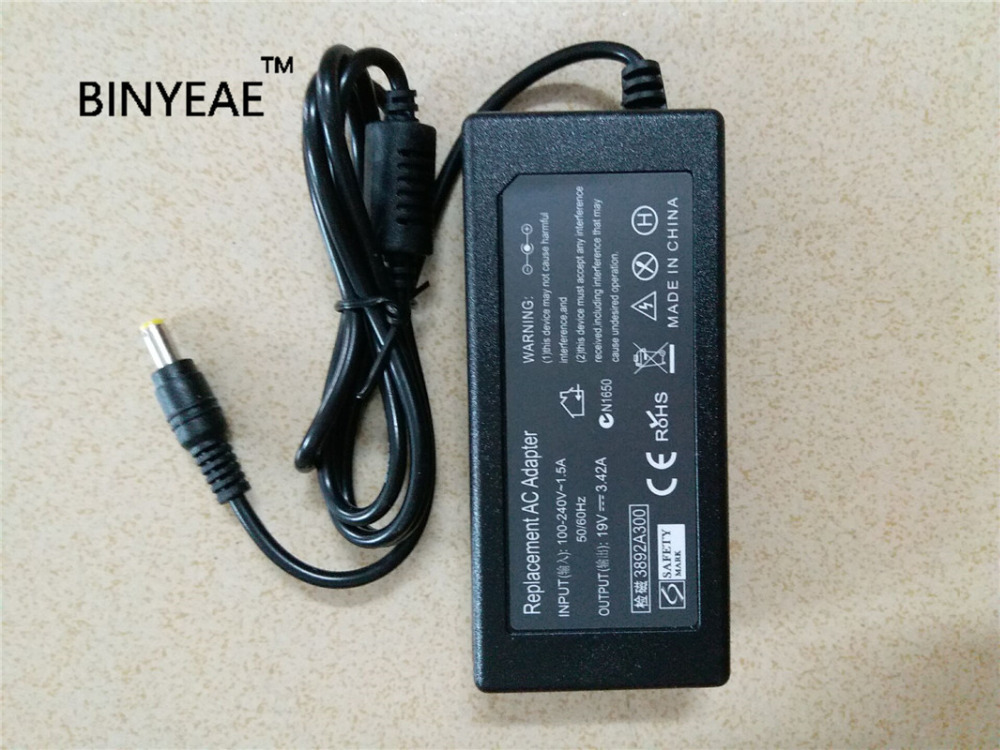 19v 3 42a 65w Ac Dc Power Supply Adapter Wall Charger For