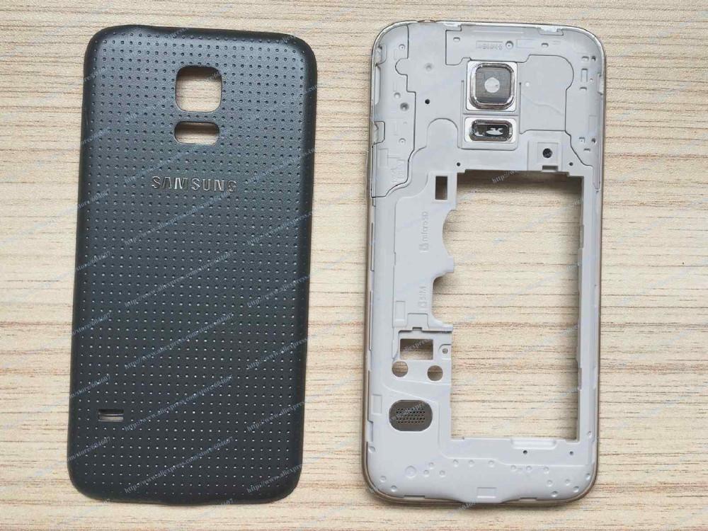 S5 Mini Frame Cover Black
