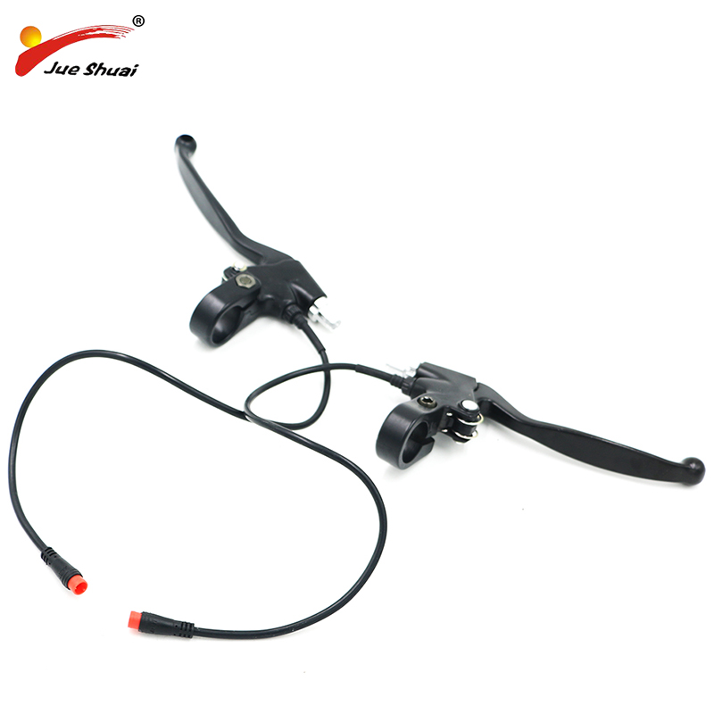 ELectric Bicycle Brake Lever With Cut Off Electricity Power Function Safety assured Ebike Brake Handle Bar