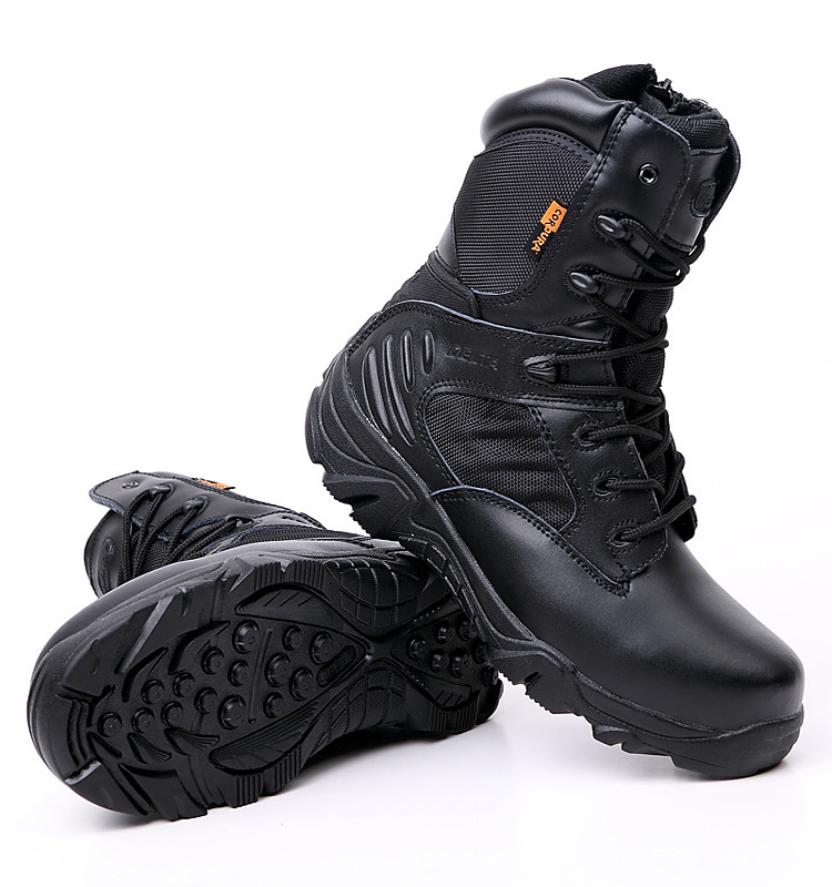 Army Boots Military Male Dropshipping Design High Top Tactical Boots Hiking Winter Delta SWAT Shoes For