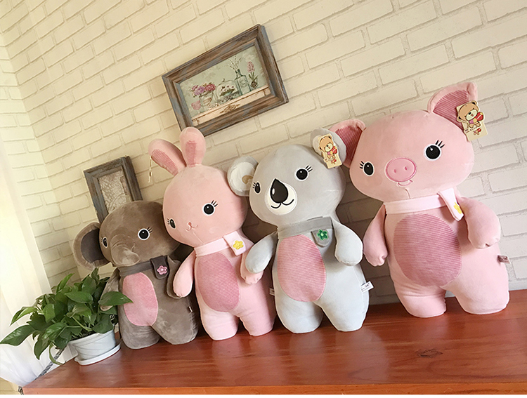 50cm Soft Rabbit Plush Toy Home Decoration Kid Gift Valentines Day Gift Staffed Animal PPT Cotton 4 Styles To Choose A-68
