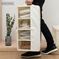 Collapsible Bra Underwear Storage Box Free combination lattice For Home Storage Women Clothes Shoes Drawer Closet Organizers