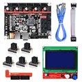 BIGTREETECH SKR V1.3 placa smoothiebboard de 32 bits + 12864 LCD + TMC2130/TMC2208/A4988 controlador Reprap MKS GEN L PRO para piezas de impresora 3D