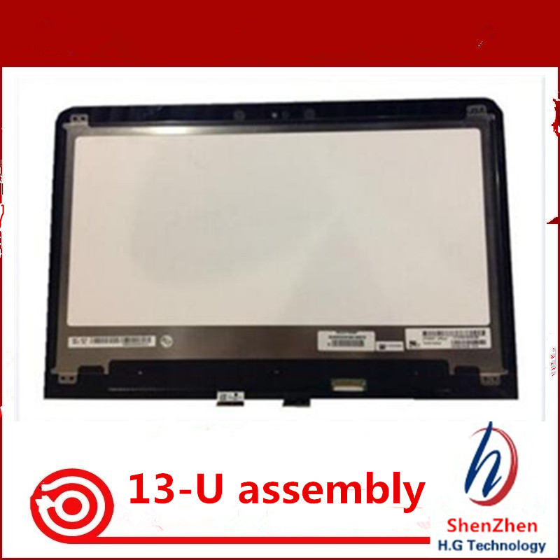 13 3 For HP Pavilion X360 13 U 13U LCD Display Touch Screen Digitizer Glass LCD