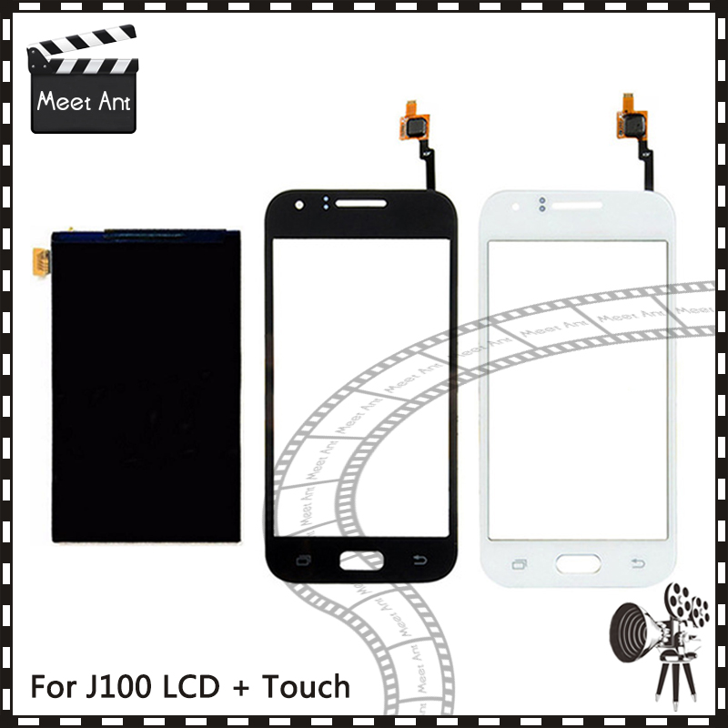 New High Quality 4.3'' For <font><b>Samsung</b></font> Galaxy J1 J100 <font><b>J100H</b></font> J100F Lcd <font><b>Display</b></font> With Touch Screen Digitizer Sensor image