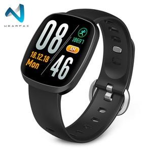 Wearpai GT103 الرياضة ساعة ذكية للرجال الدم ضغط اللياقة البدنية النشاط القلب معدل تعقب ل IOS ساعة أندرويد للماء ip67