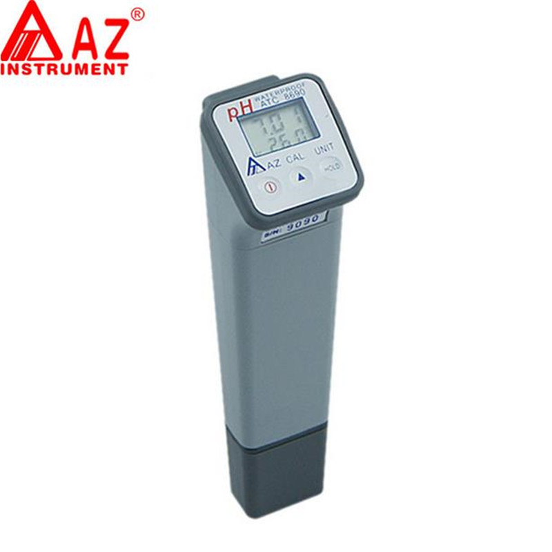 AZ8690 Water pH tester handheld precision laboratory industrial portable ph meter test pen meter free shipping  цены