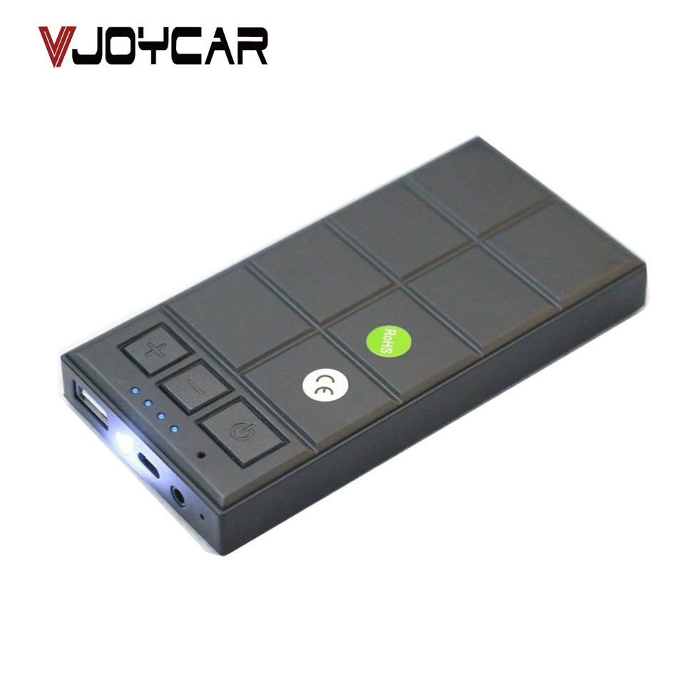 VJOYCAR Q905 Long Distance Voice Recorder With 5000mAh Power Bank 8G Memory Audio Activated Timer Recording