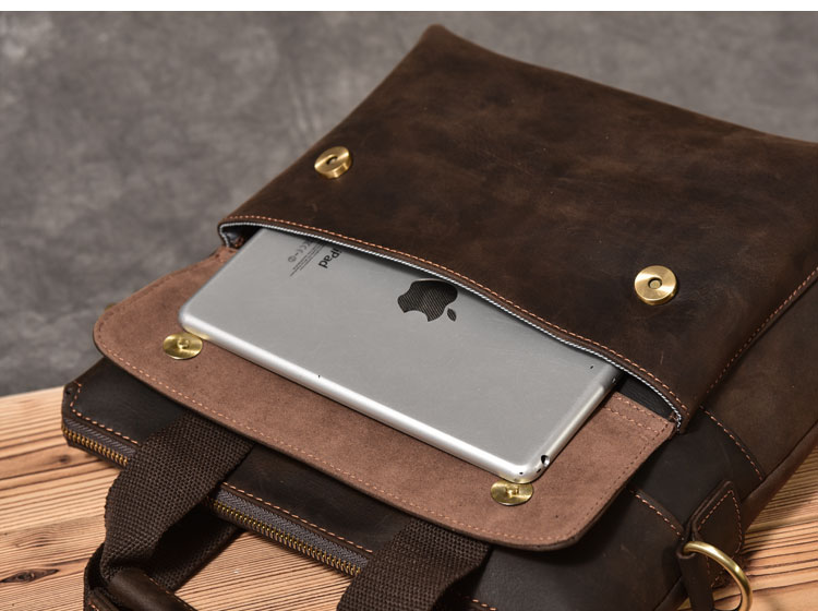 Luxury Leather Handbag ipad