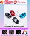 Высокое Качество автомобилей стайлинг крышка детектор ABS Краска ключи мешок случаи брелок Бумажник умный/фолд для Kia K3 Sorento Carens