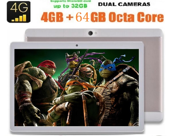 2017 Newest 10 inch 3G 4G FDD LTE tablet Octa core 1280 800 IPS HD 8