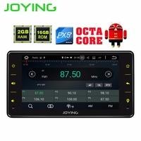JOYING Универсальный 1 din android 8,1 автомобильный мультимедийный плеер головное устройство 6,2 ''сенсорный экран стерео Поддержка carplay и android авто