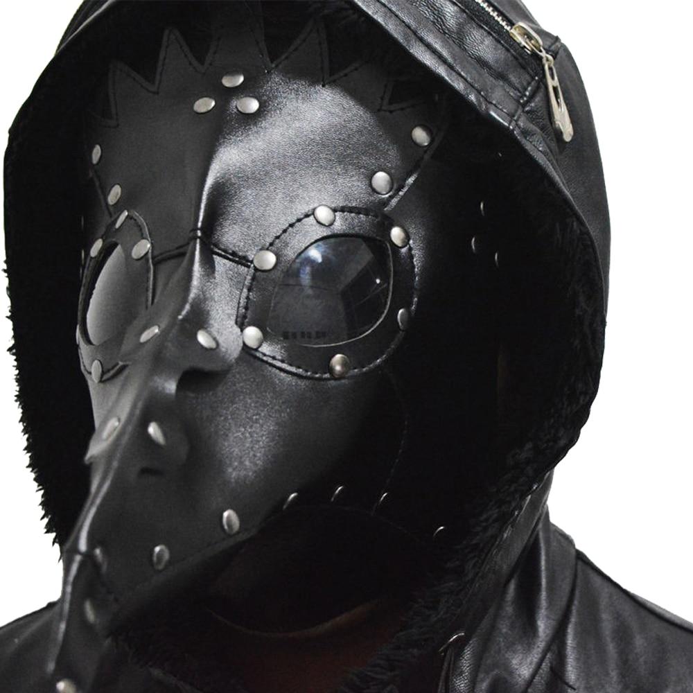 Aliexpress.com : Buy Steampunk Faux Leather Dark Doctor Masks ...
