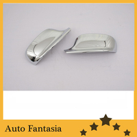 Chrome Side Mirror Cover for BMW X1 E84 2010 2013 ( Can also fit for BMW X3 F25) Free Shipping