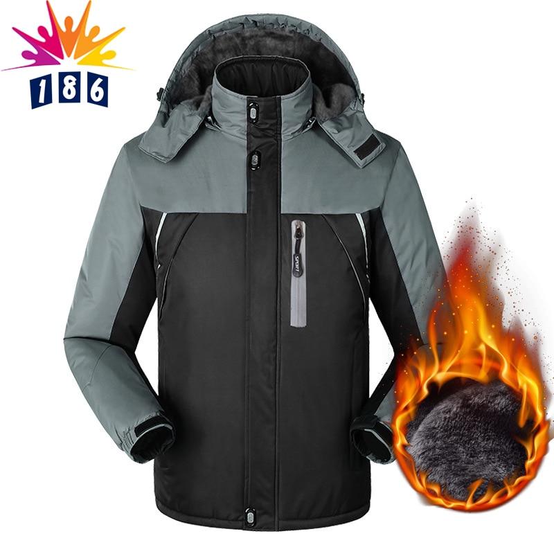 ФОТО autumn winter new men's coat cotton Slim lengthened plus velvet warm coat men's Hooded casual jackets coat M-4XL5XL